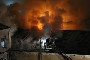 Пожар на Стромынке